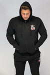 Caveman Hooded Tracksuit Top
