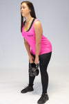 Primitive Gym Workout Vest Neon Pink
