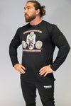 Caveman Long Sleeved T-Shirt Black