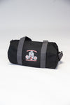 Caveman Duffel Bag Black Featuring Red Logo