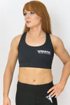 Primitive Gym Crop Top Black