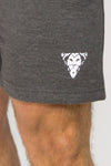Primitive Gym Campus Shorts Charcoal