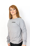 Primitive Gym Lounge Sweat Top Heather Grey
