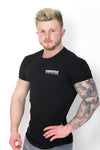 Primitive Gym Stretch T-Shirt Small Logo Black