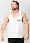 Primitive Gym Muscle Vest White