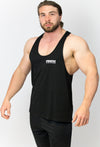 Primitive Gym Muscle Vest Black