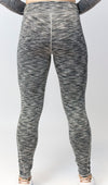 Primitive Gym Ladies Leggings Silver Fleck