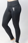 Primitive Gym Ladies Leggings Charcoal