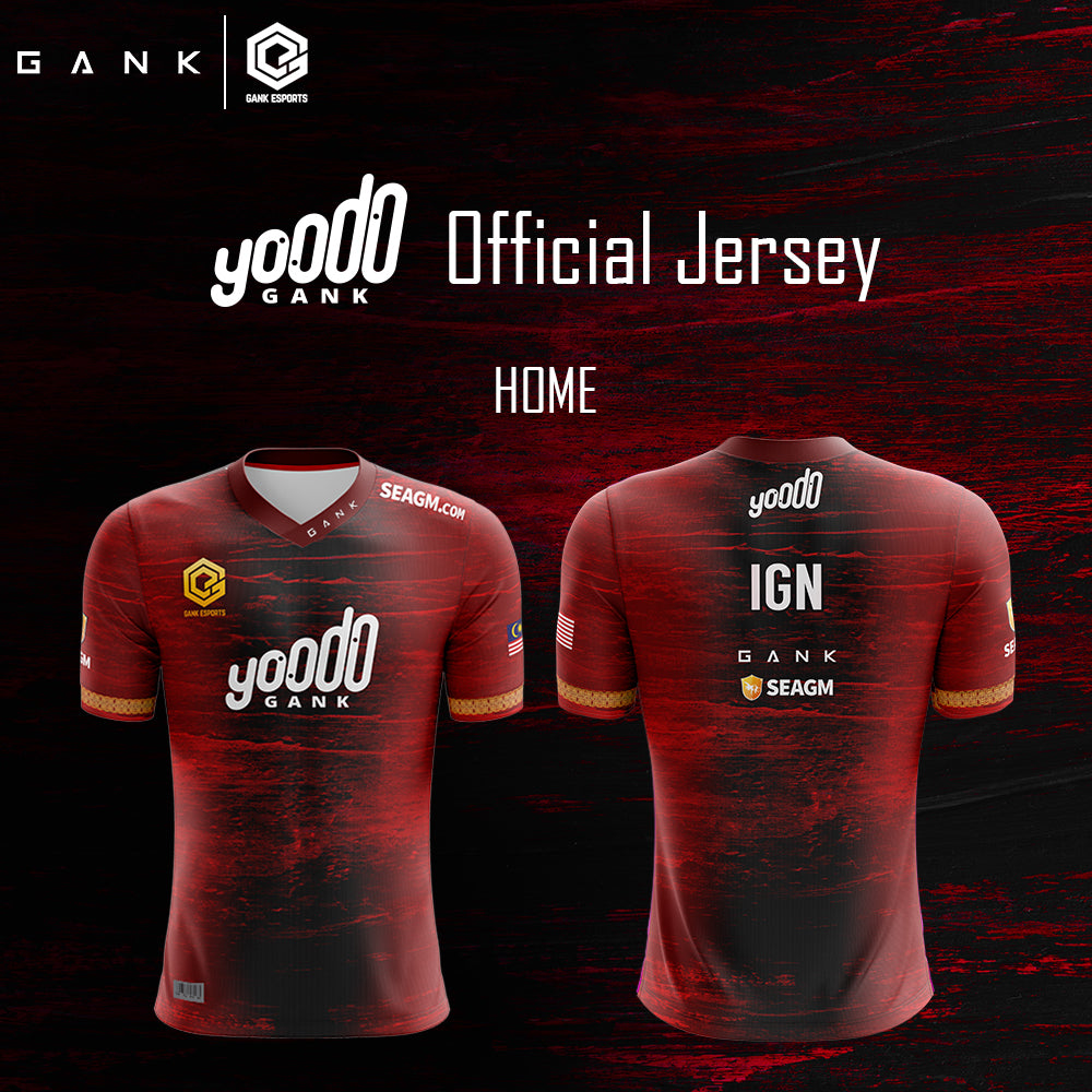 Yoodo Gank Jersey (with Yourname)