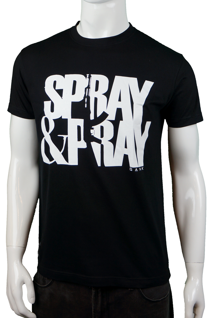 GANK SPRAY & PRAY - BLACK