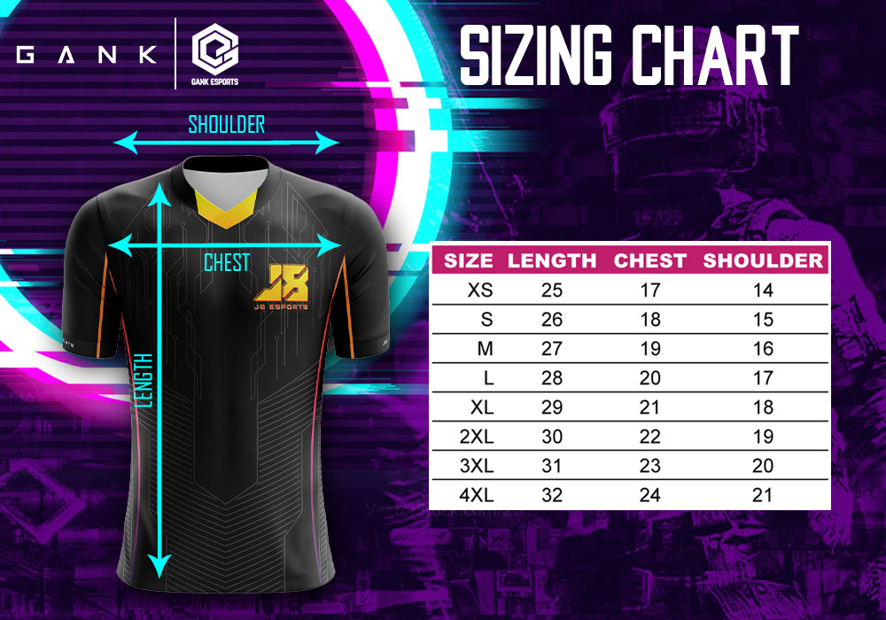 J8 ESPORTS OFFICIAL JERSEY