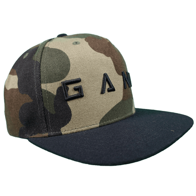 GANK ALPHA SNAPBACK - JUNGLE CAMO