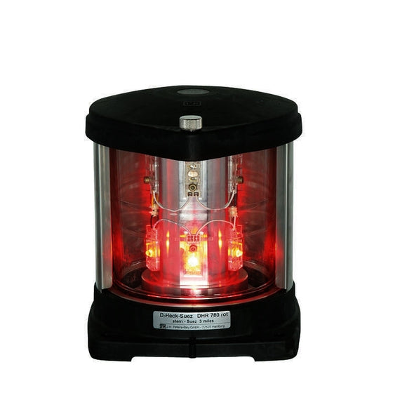 Peters Bey LED 780 Double Stern Red Suez Light - 115/120v