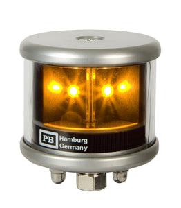 Peters Bey LED All Around Yellow Navigation Light - Silver