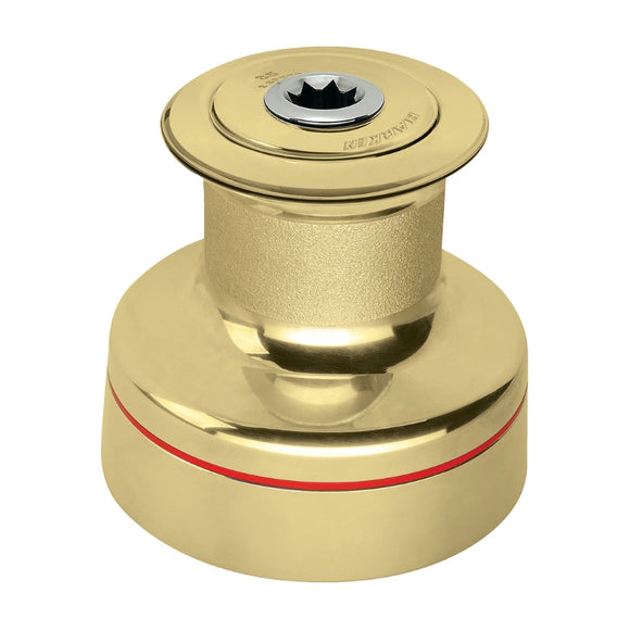 Harken 46-2 Speed Plain Top Polished Bronze Winch
