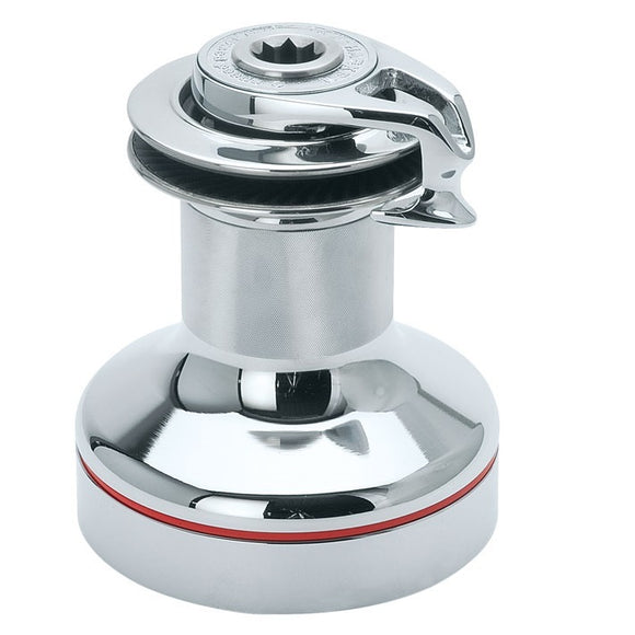 Harken B60.2STCCS Two Spd ST Winch w/chrome base and drumss top