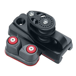 Harken E3256 32mm Double Sheave End w/Dead End and Cam Pair