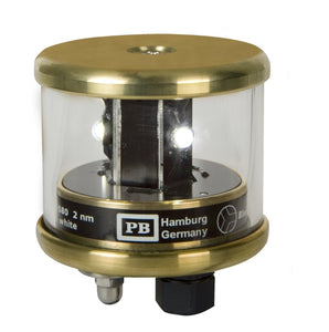 Peters Bey LED 3nm Steaming Navigation Light - Brass