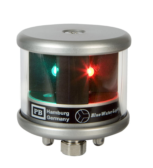 Peters Bey LED Bicolor Navigation Light - Silver