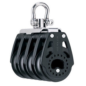 Harken 2654 40mm Carbo Quad Block