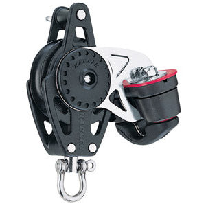 Harken 2646 40mm Carbo Block w/Cam Cleat and Becket