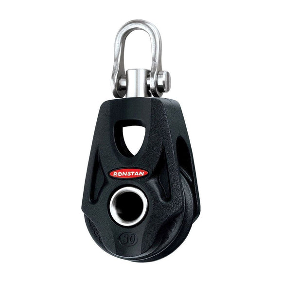 Ronstan Series 30 BB OrbitBlock Single Swivel Shackle Head Becket