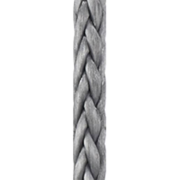 New England Ropes 5/32in (4mm) Endura 12 Gray