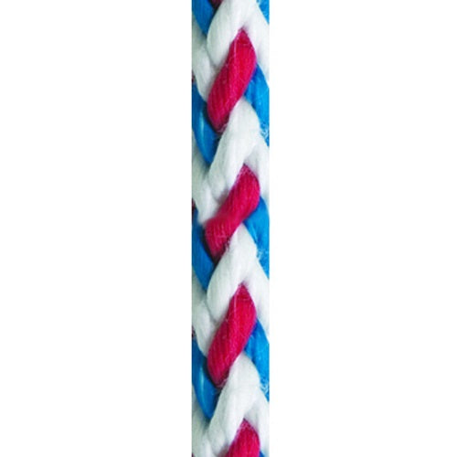New England Ropes 5/16in (8mm) Salsa Line Red / White / Blue