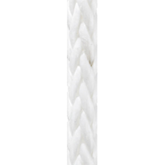New England Ropes 1/4in (6mm) Endura 12 White