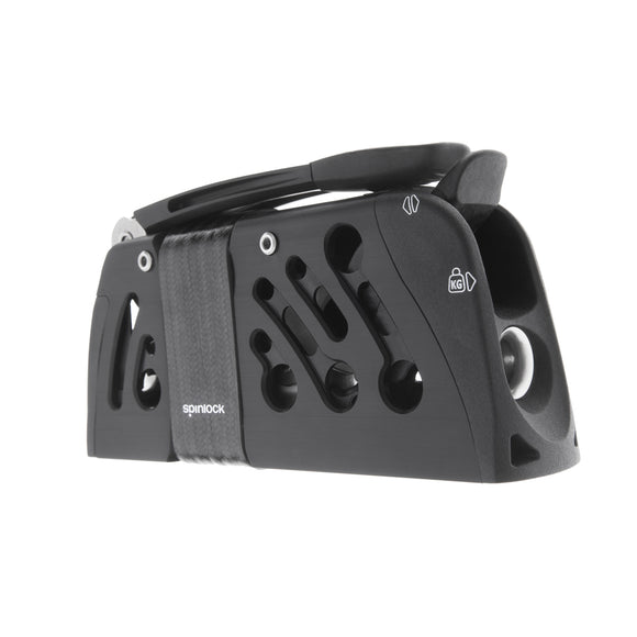 Spinlock Powerclutch CTiC Starboard sidemount bolted Black