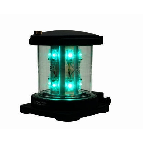 Peters Bey LED 780 Double Green Signal Light - 115/120v