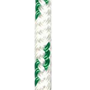 FSE Robline 3/8in (10mm) Orion 300 Rope White/Green - Full 656ft Spool