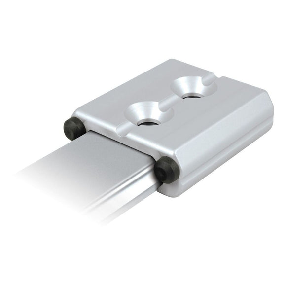 Ronstan Series 22 End Stop, Alloy, 48mm x 47mm SILVER