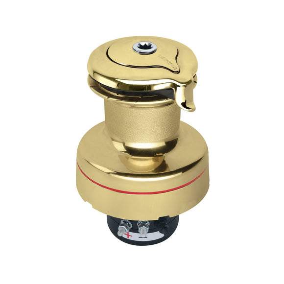 Harken Unipower 24V Polished Bronze W/Accessories