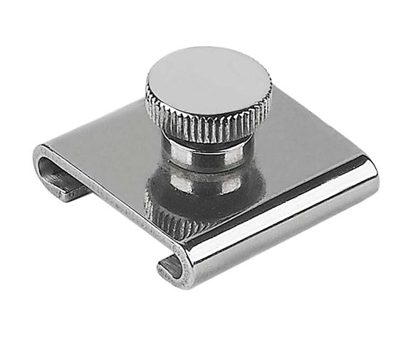 Schaefer Marine Adjustable Stop, 1 1/2in x 1/4in (38 x 6mm) T-Track