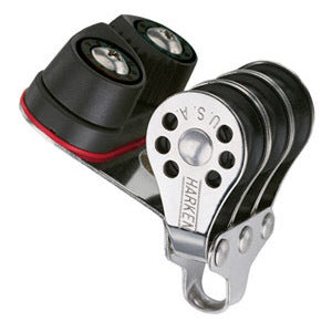 Harken 230 Triple Micro Block w/Cam Cleat