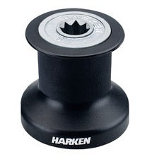 Harken B6A Single Speed Winch with alum/composite basedrum and top
