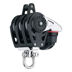 Harken 2648 40mm Triple Carbo Block w/Cam Cleat and Becket