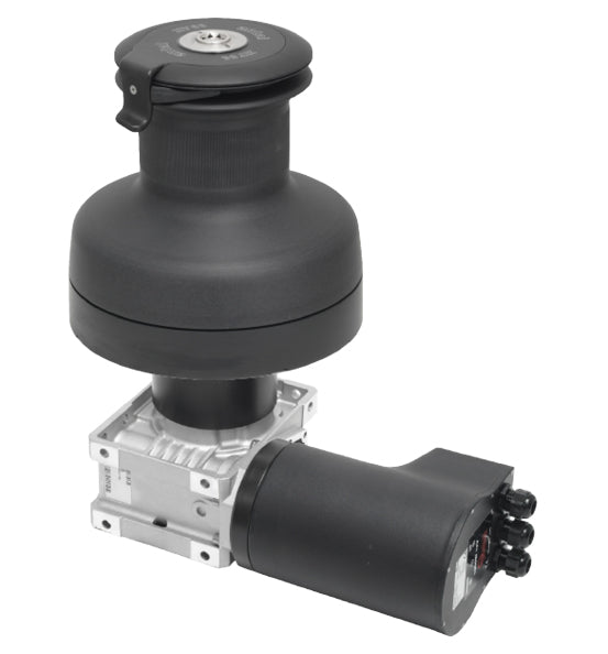 Antal Aluminum XT66 Electric Winch - 24v - 2 Speed - Horizontal Mount