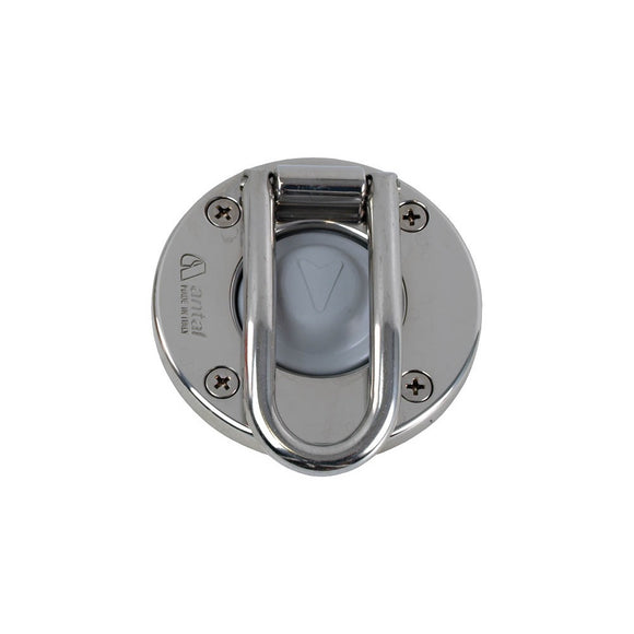 Antal Stainless Winch Switch with Protection Grey