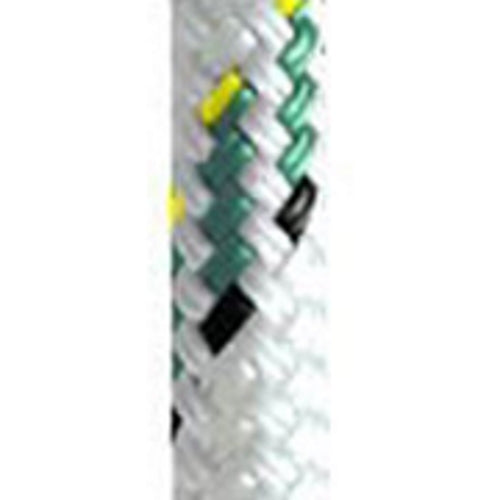 Yale Cordage 5/8 - 16mm Vectran White with Green Fleck