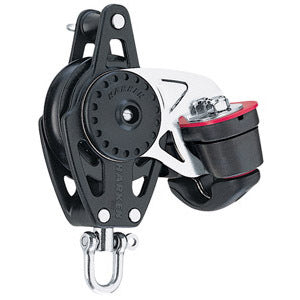 Harken 2616 57mm Carbo Block w/Cam Cleat and Becket