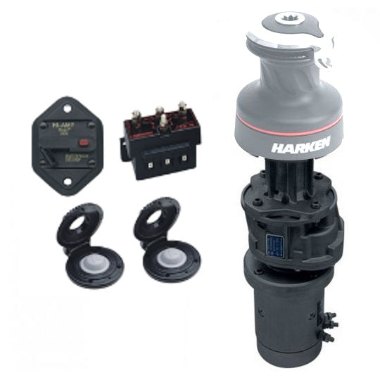 Harken 50.2 Radial Electric Winch Conversion Kit 12v Vertical 1500W