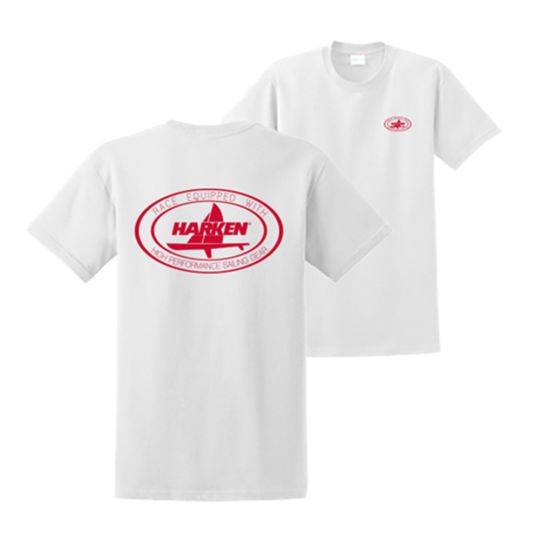 Harken Race Equipped Oval T-Shirt White