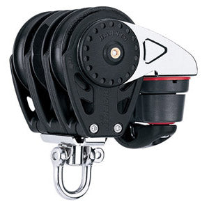 Harken 2629 57mm Triple Carbo Ratchamatic w/Cam Cleat