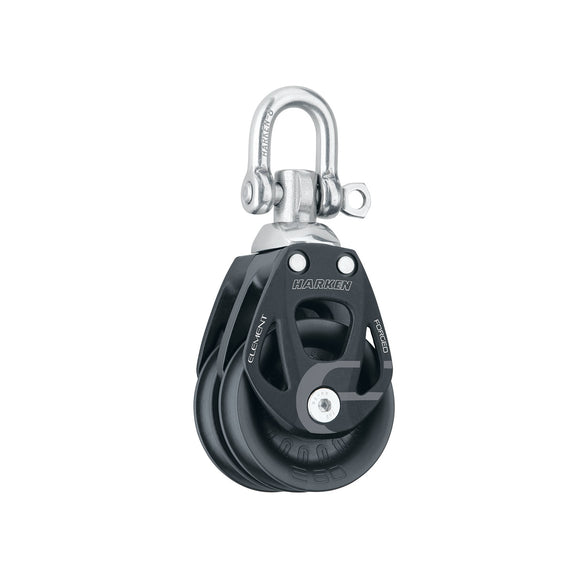 Harken 60mm Element Double Swivel Block