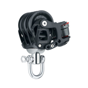 Harken 60mm Element Triple Swivel Block with Cam