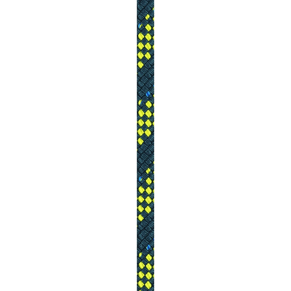 Liros Regatta 2000 Steelblue-Yellow 8mm - 5/16in