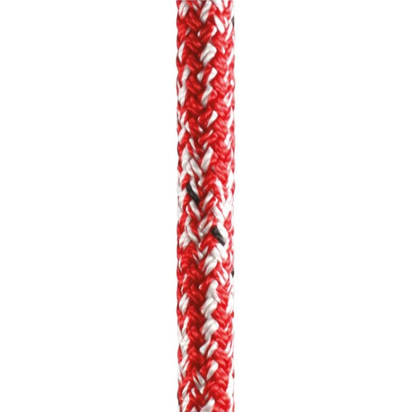 Marlow 5/16in (8mm) Double Braid Polyester Red Marble