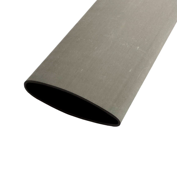 Airfoil Carbon Tubing - Uni Dull Peel Ply Finish - 5in Chord